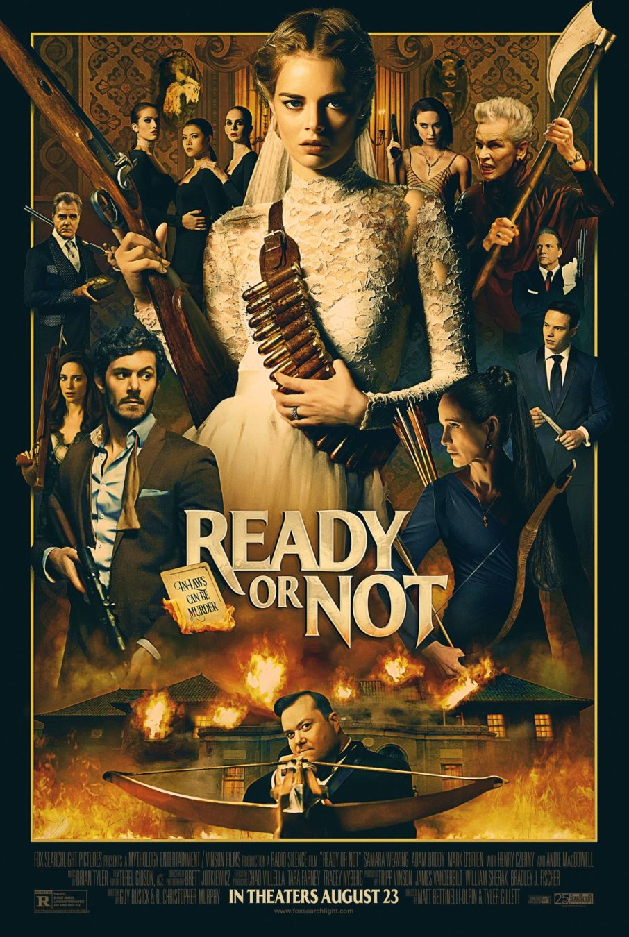 ready or not movie 2019 poster