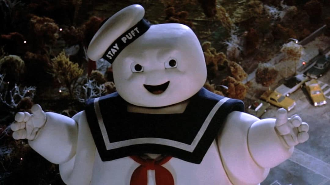 stay-puft marshmallow ghostbusters