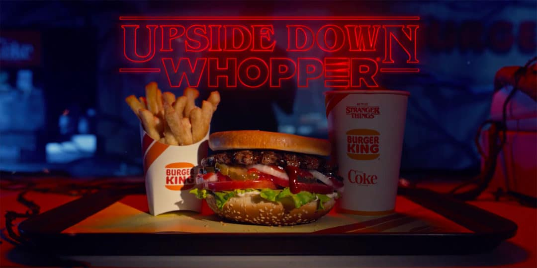 Burger King is Literally Turning the Whopper Upside Down for STRANGER THINGS