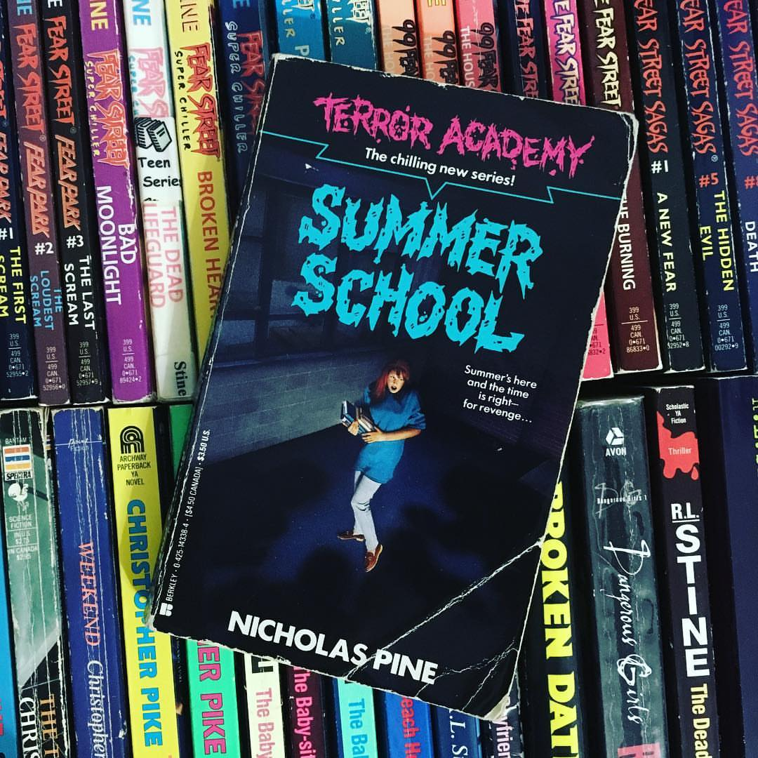 terror academy nicholas pine series