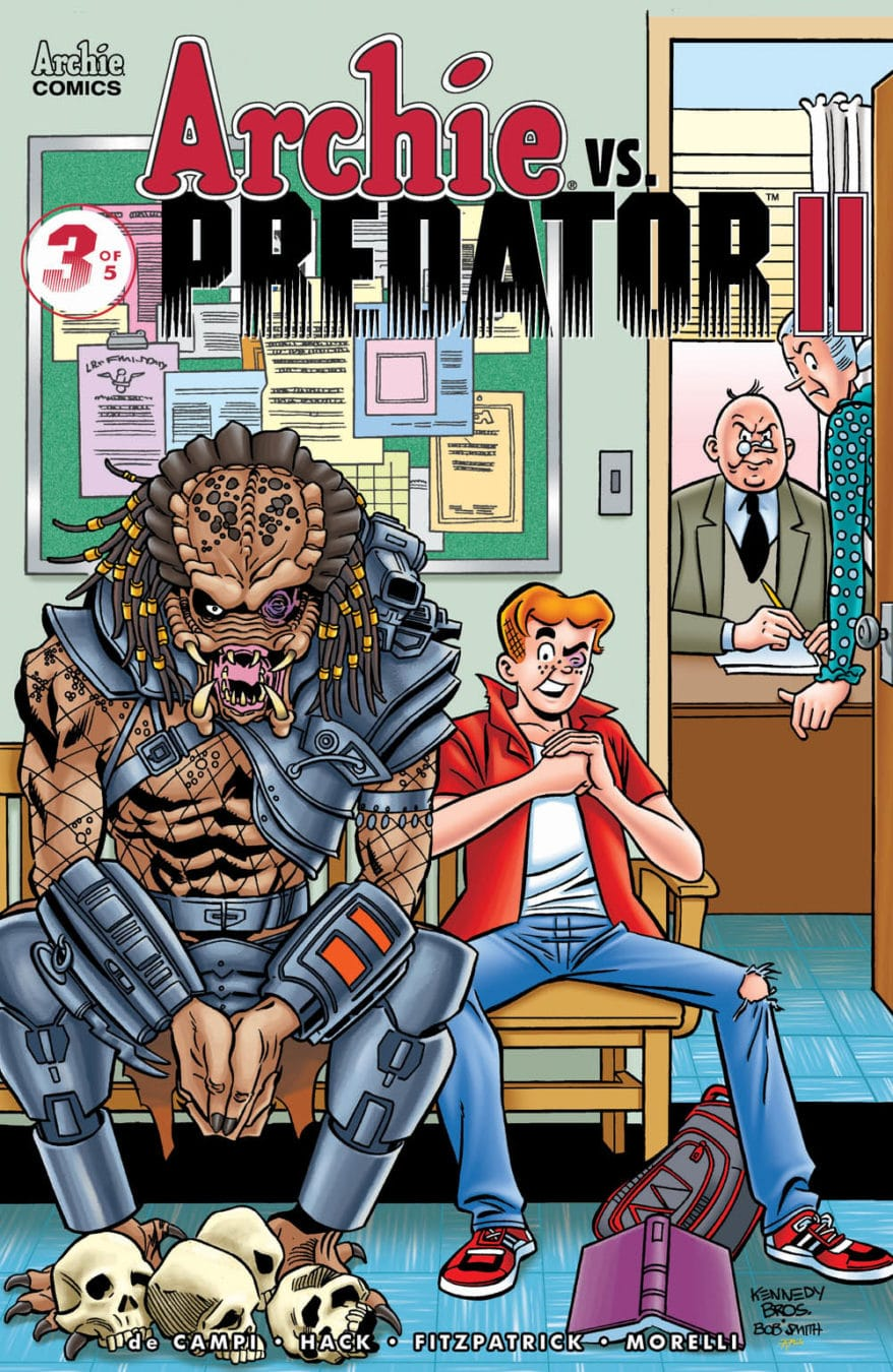 ARCHIE vs predator II issue 3