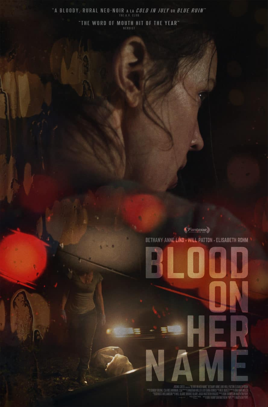 [Exclusive Interview] BLOOD ON HER NAME Star Bethany Lind on Letting Women Be Messy in Horror