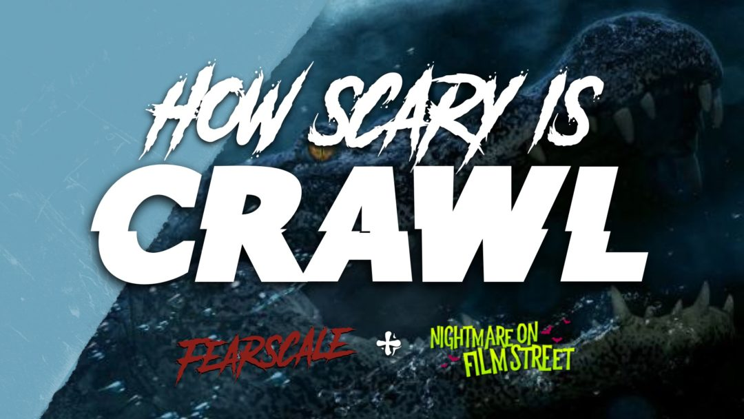 [FearScale] Just How Scary is CRAWL? Live Heart Rate Breakdown
