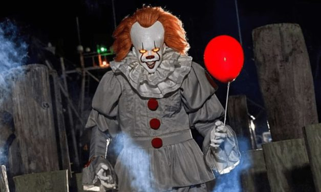 You'll Float Too With Spirit Halloween's Life Size Animatronic Pennywise