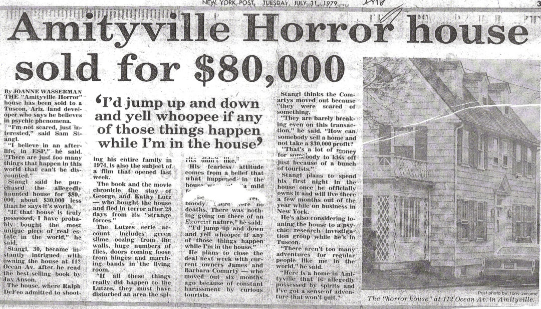 true story amityville horror