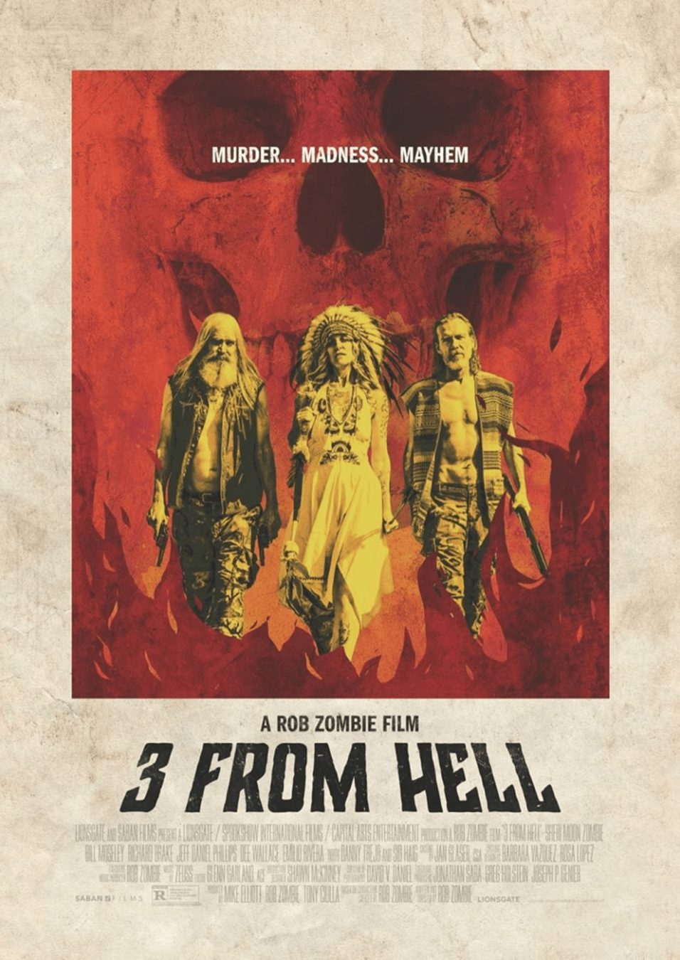 [Review] Rob Zombie Sets The Firefly's Past Ablaze and Rides The Flames Like A Tidal Wave of Terror in 3 FROM HELL