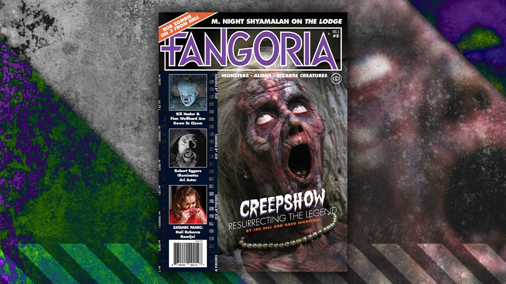 ICYMI: New Fangoria Cover Features Shudder's Long Awaited CREEPSHOW Series