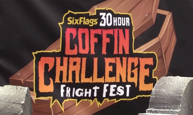 Could You Spend 30 Hours in a Coffin? Take the COFFIN CHALLENGE at Six Flags' FRIGHT FEST