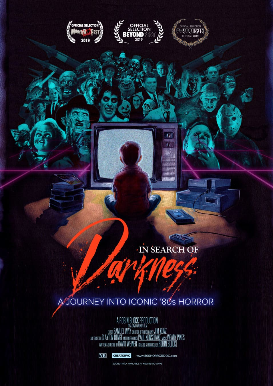 [Exclusive Interview] For the Fans, By The Fans: Director David Weiner Discusses 80's Horror Documentary IN SEARCH OF DARKNESS