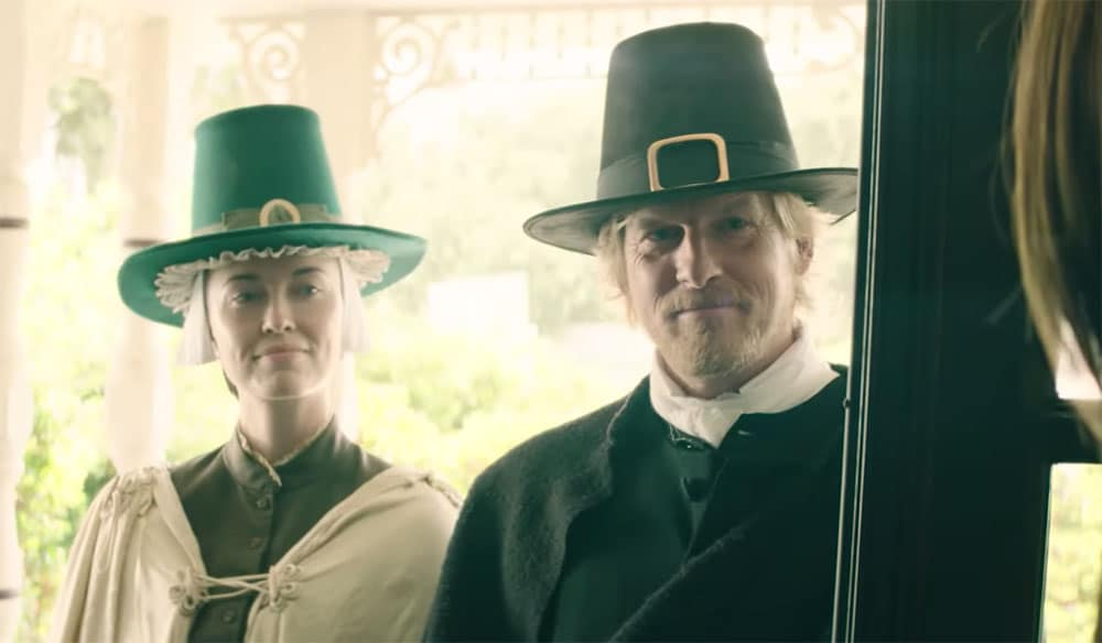 [Exclusive Interview] INTO THE DARK: PILGRIM Patriarch Kerr Smith on Gratitude And What NOT To Do on Thanksgiving