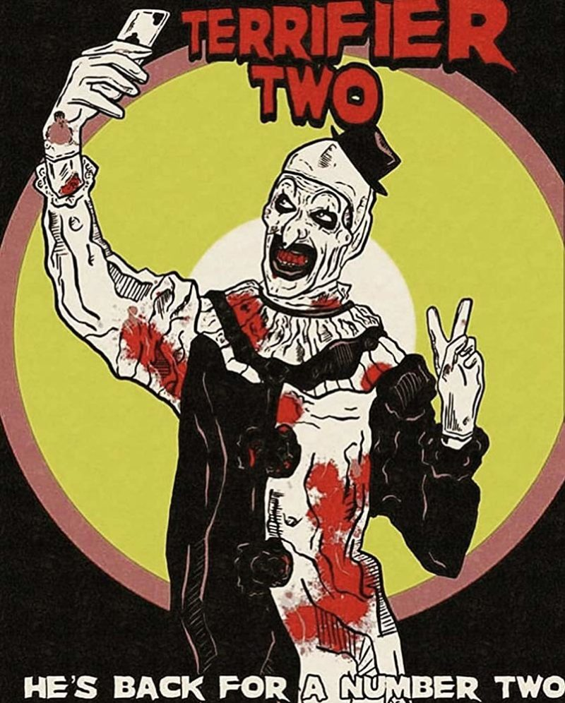 Get Your First Look at David H. Thornton as Art the Clown on the Set of TERRIFIER 2
