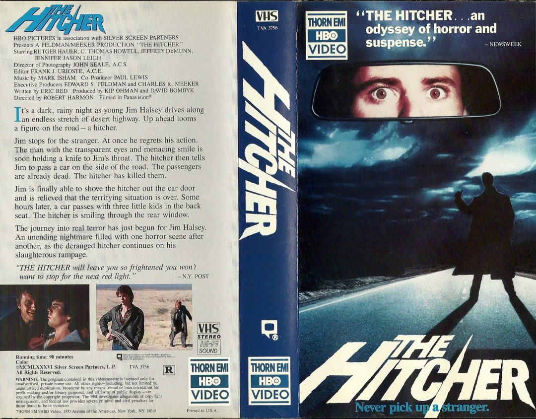 Remembering The Chilling Brilliance of Rutger Hauer on The 35th Anniversary of THE HITCHER