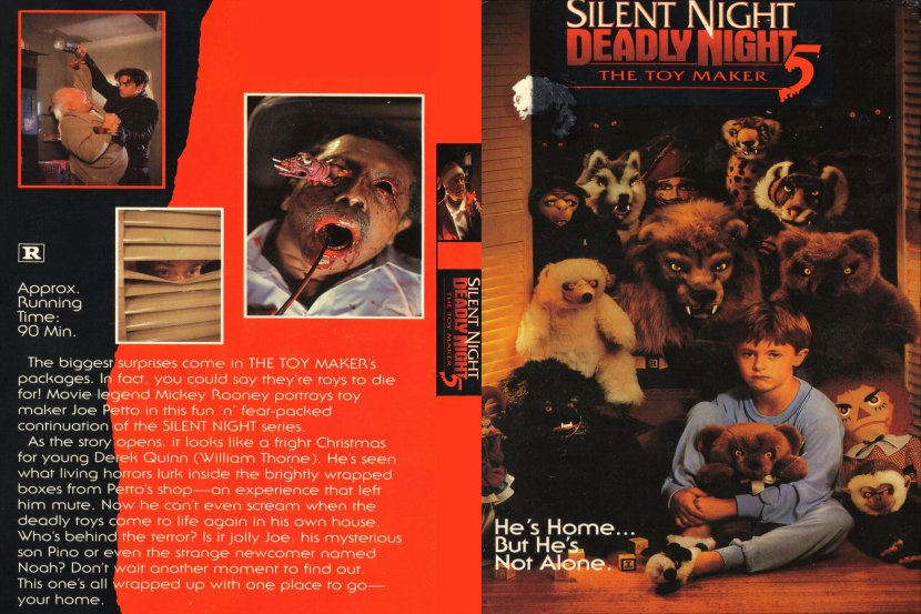 Direct-to-Video: SILENT NIGHT, DEADLY NIGHT 5: THE TOY MAKER
