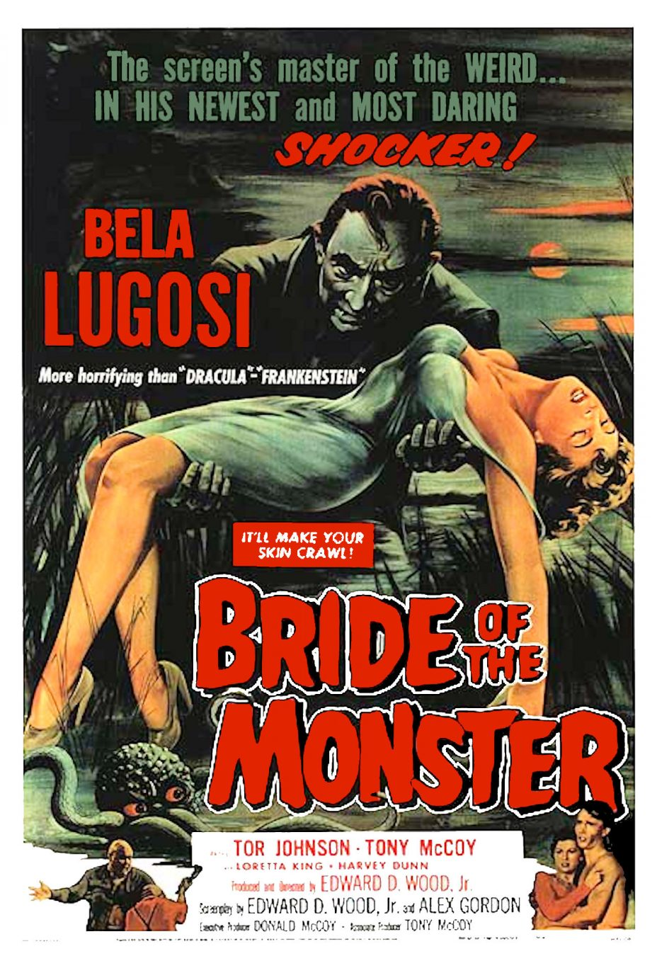 Bride of the Monster1955