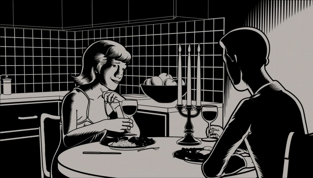 [Scared in Segments] Animated Black-and-White Horror Anthology FEAR(S) OF THE DARK (2007)