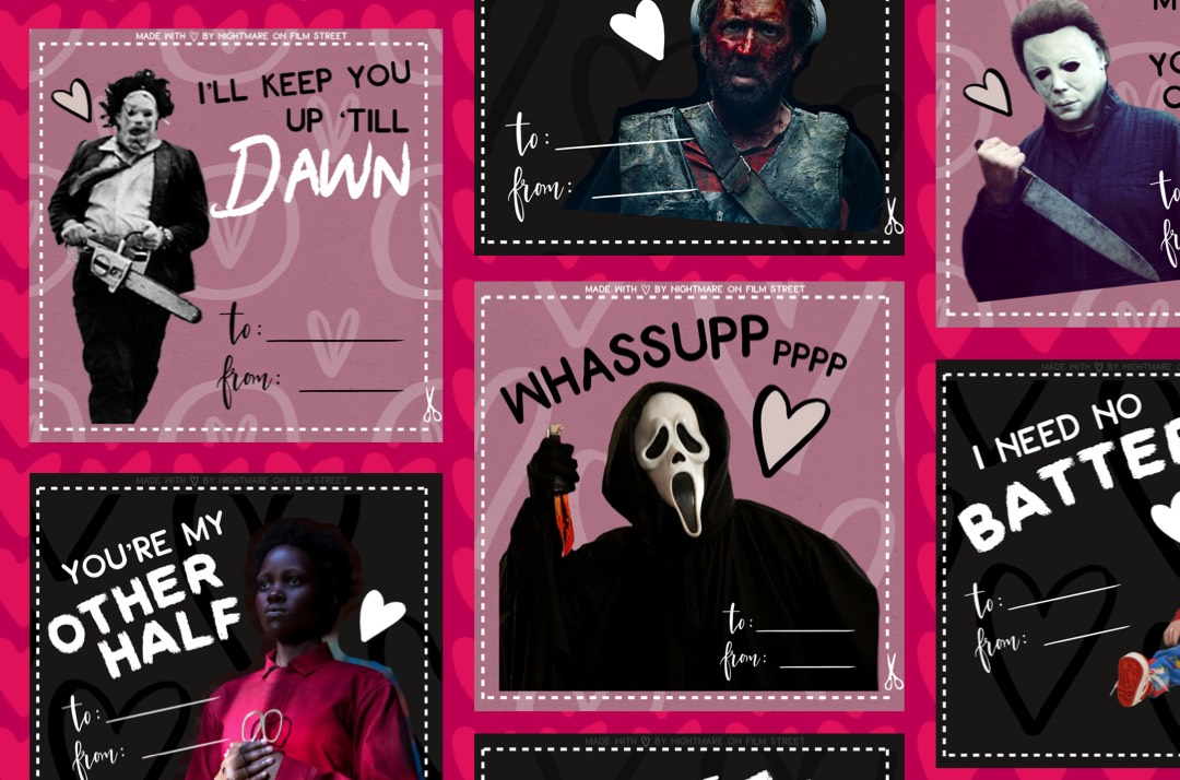 Horror-Themed Valentines Day Cards for Your Sick & Twisted Sweetie! [Printable]