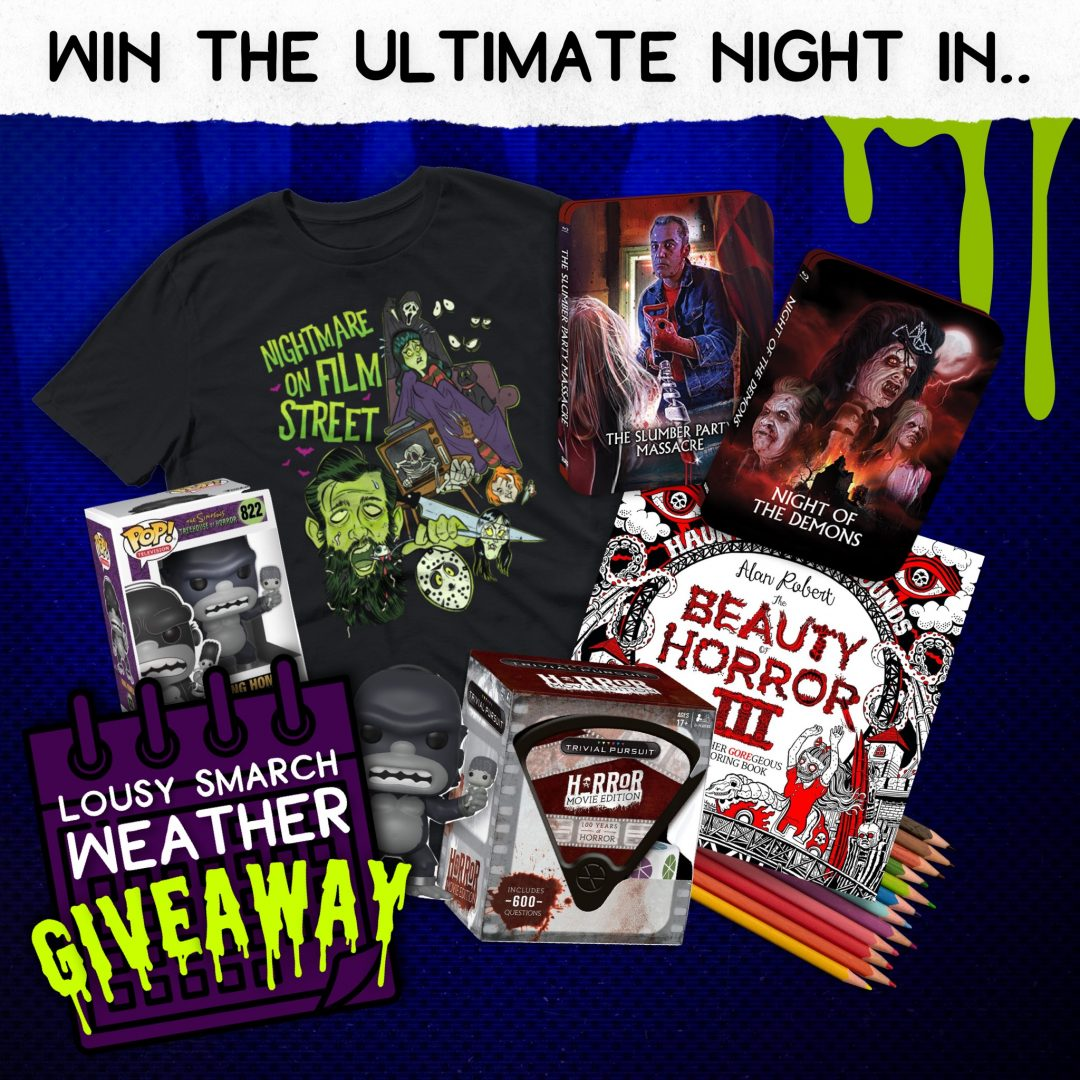 lousy smarch weather horror giveaway nightmare on film street