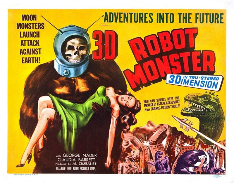 [Awfully Good] ROBOT MONSTER is a Terrible Monster... from SPACE!!!