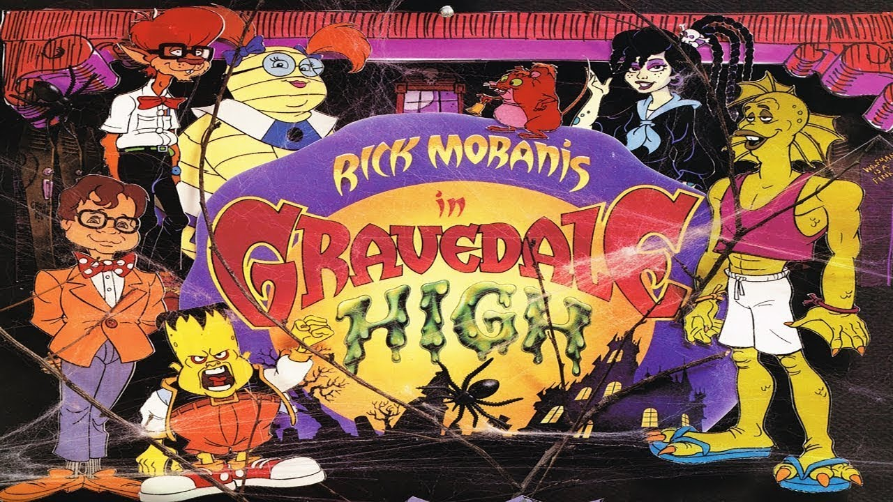 [Saturday Morning Scares] Do The Monster Mash with Rick Moranis at GRAVEDALE HIGH