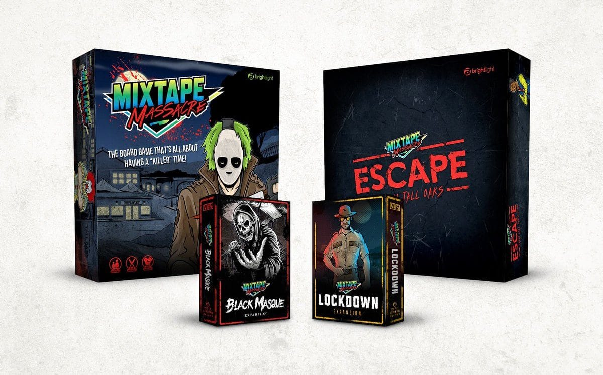 [Table Top Terrors] Fight the Law and Win with Mixtape Massacre's LOCKDOWN