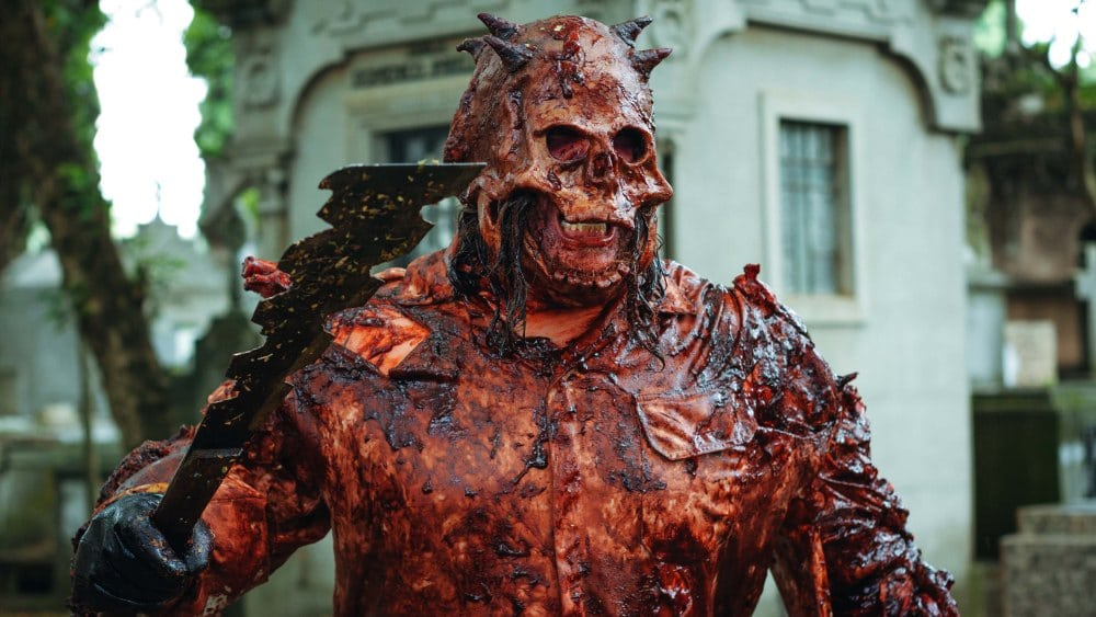 [Chattanooga 2020 Review] Brutal Brazilian Slasher SKULL: THE MASK Is A Feast Of Gory Goodness