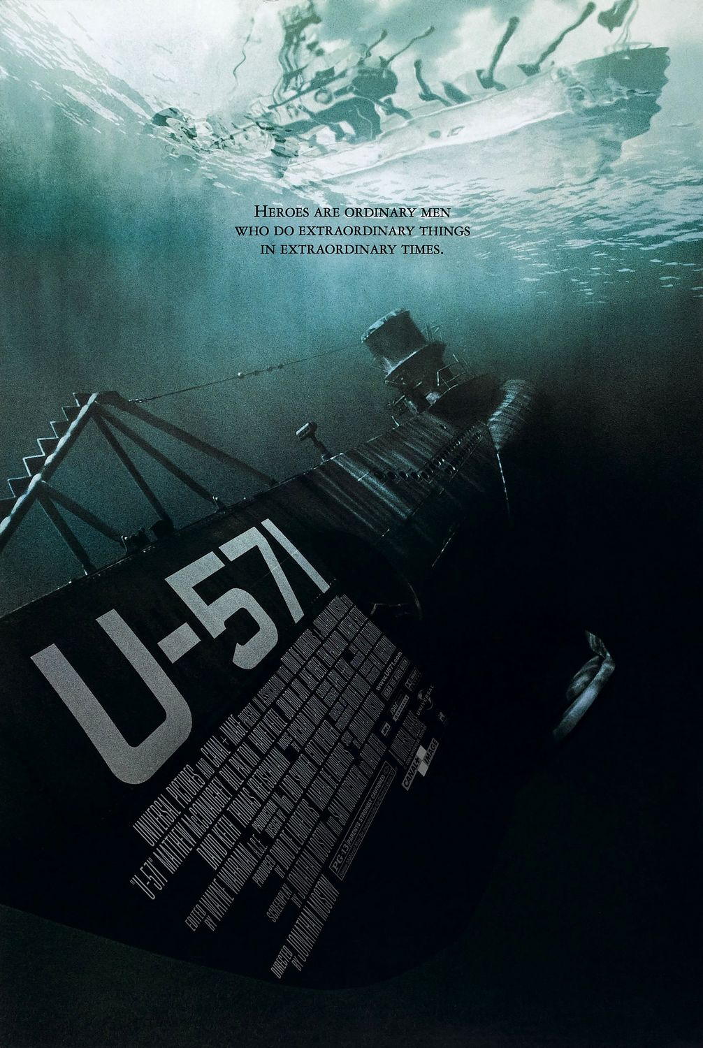 [Almost Horror] Monsters of War are Under the Sea Aboard U-571
