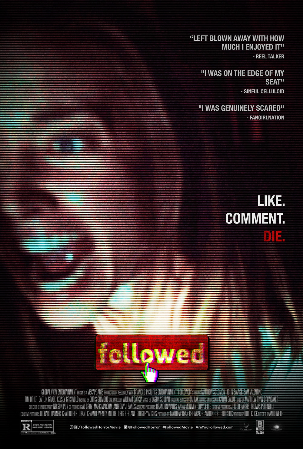 [Review] Found Footage Horror FOLLOWED Portrays the Danger of Internet Fame