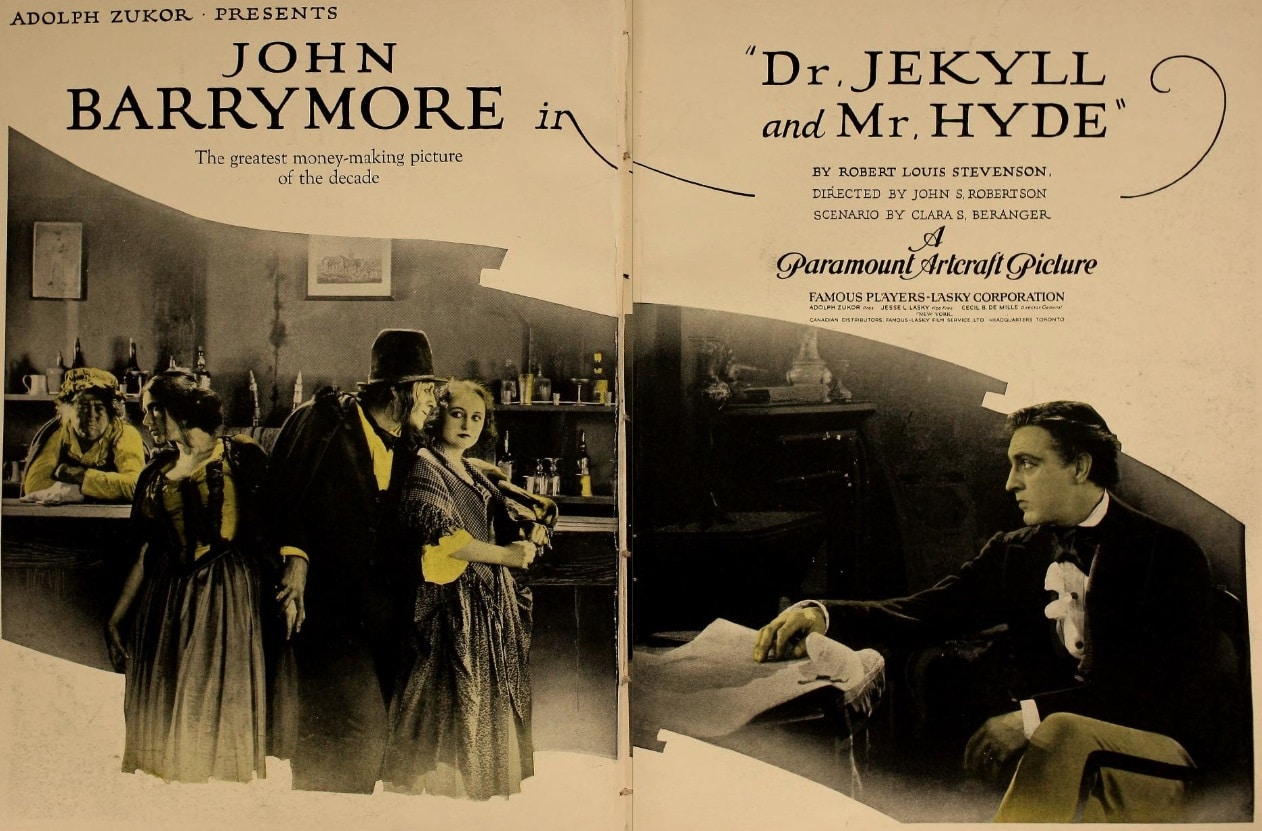 [Silver Screams] DR. JEKYLL AND MR. HYDE (1920) and Allegory Elevated by the Power of Performance