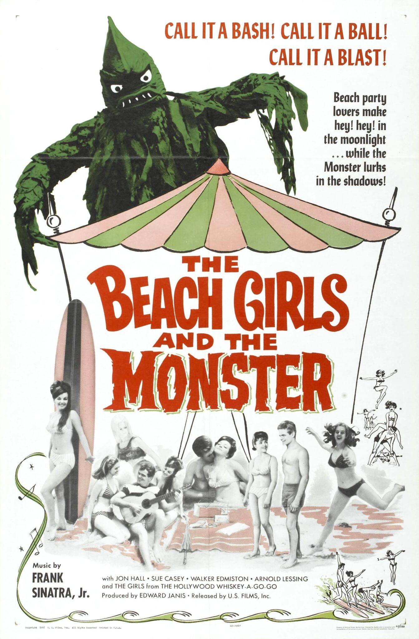 [Awfully Good] Host Your Very Own Trashy Beach Party at Home with THE BEACH GIRLS AND THE MONSTER