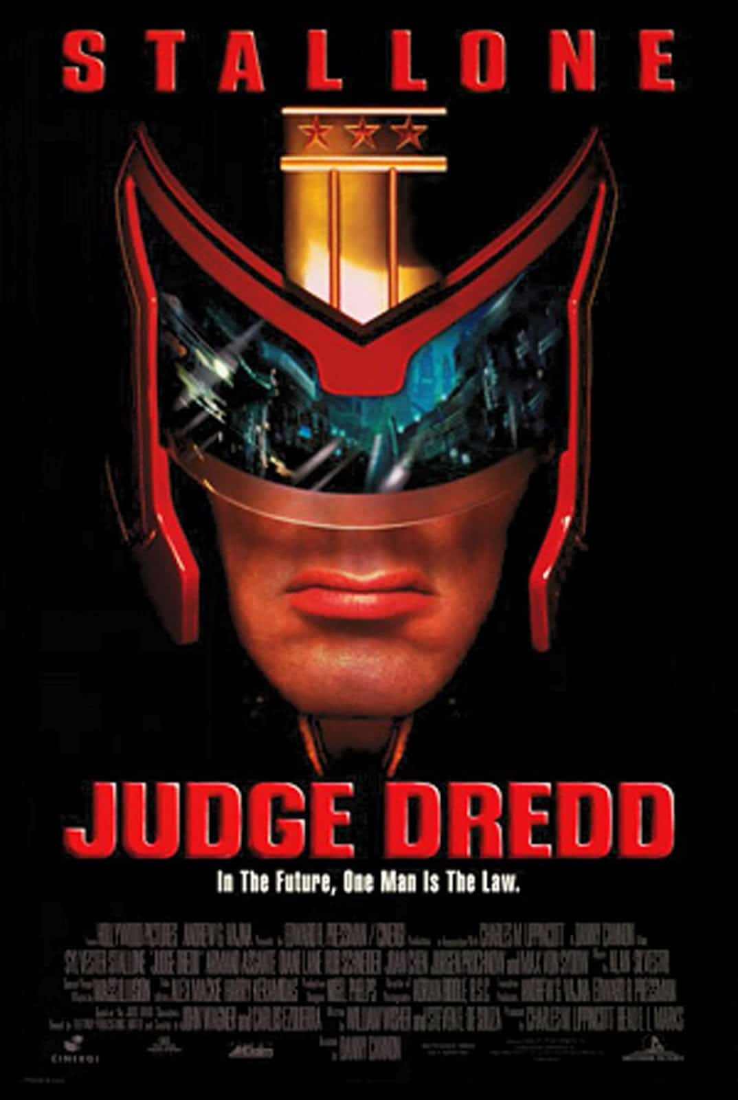 JUDGE DREDD on its 25th Year Anniversary, and Why it's A Bad Movie Worth Celebrating