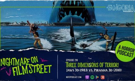[Podcast] 3 Dimensions of Terror! JAWS 3D vs. PIRANHA 3D