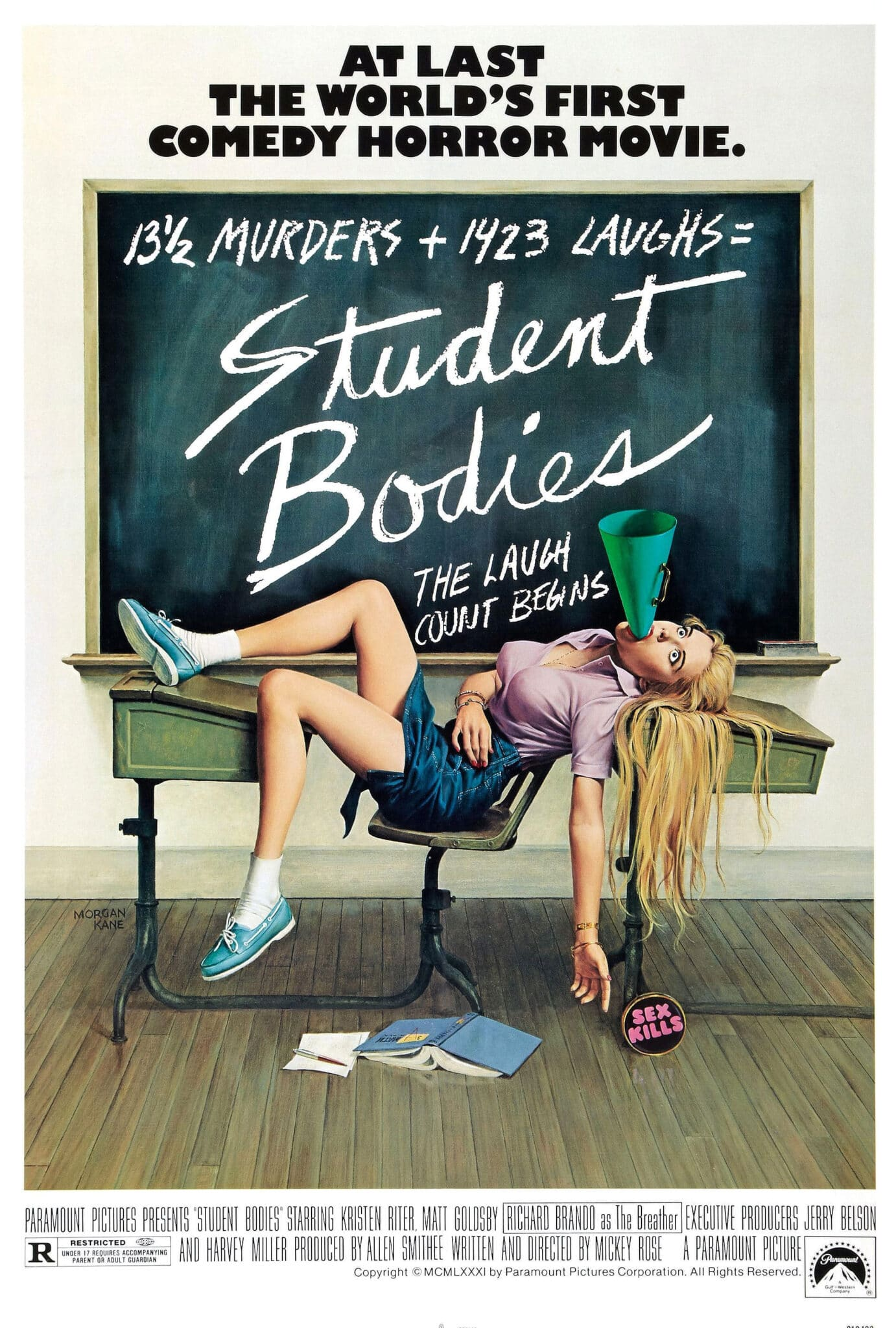 [Video Vault] Laugh Your Head Off With Mickey Rose's Slasher Spoof STUDENT BODIES