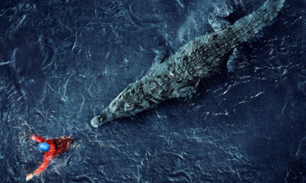 [Review] A Crocodile Makes a Meal of Spelunkers in BLACK WATER: ABYSS