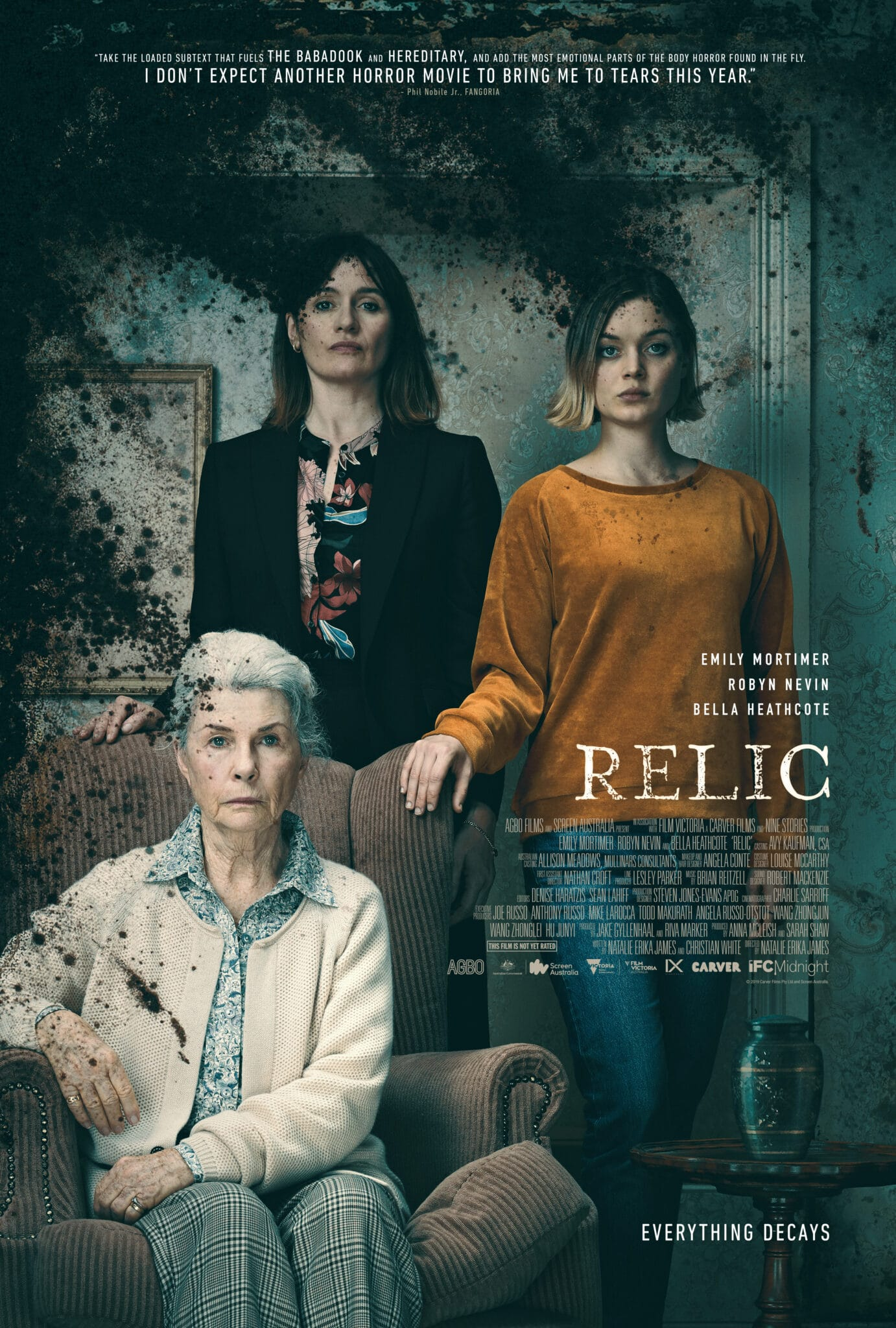 [Review] RELIC Runs Generational Horror Through A Beautiful and Unsettling Vicious Cycle