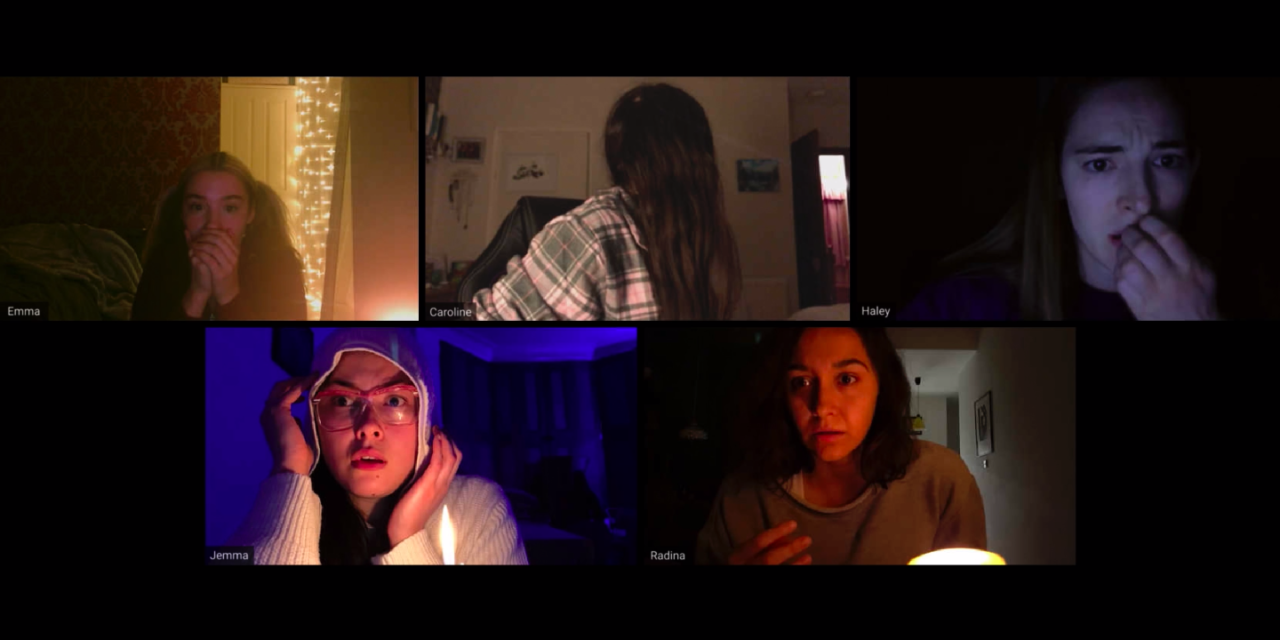 "[Review] Shudder's ""HOST"" Isn't Just A Quarantine Horror Movie, It's THE PERFECT Quarantine Horror Movie"