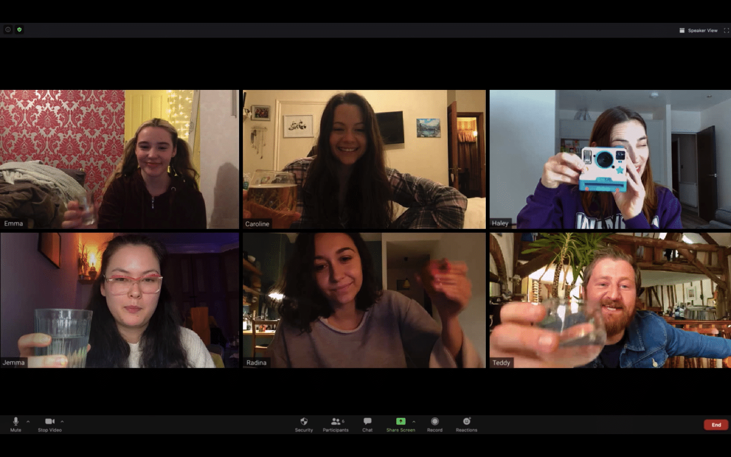 host 2020 shudder seance quarantine horror