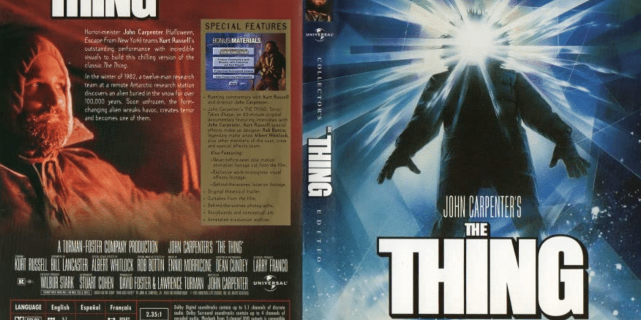 [VIDEO VAULT] The Many Nihilistic Monsters of John Carpenter's THE THING