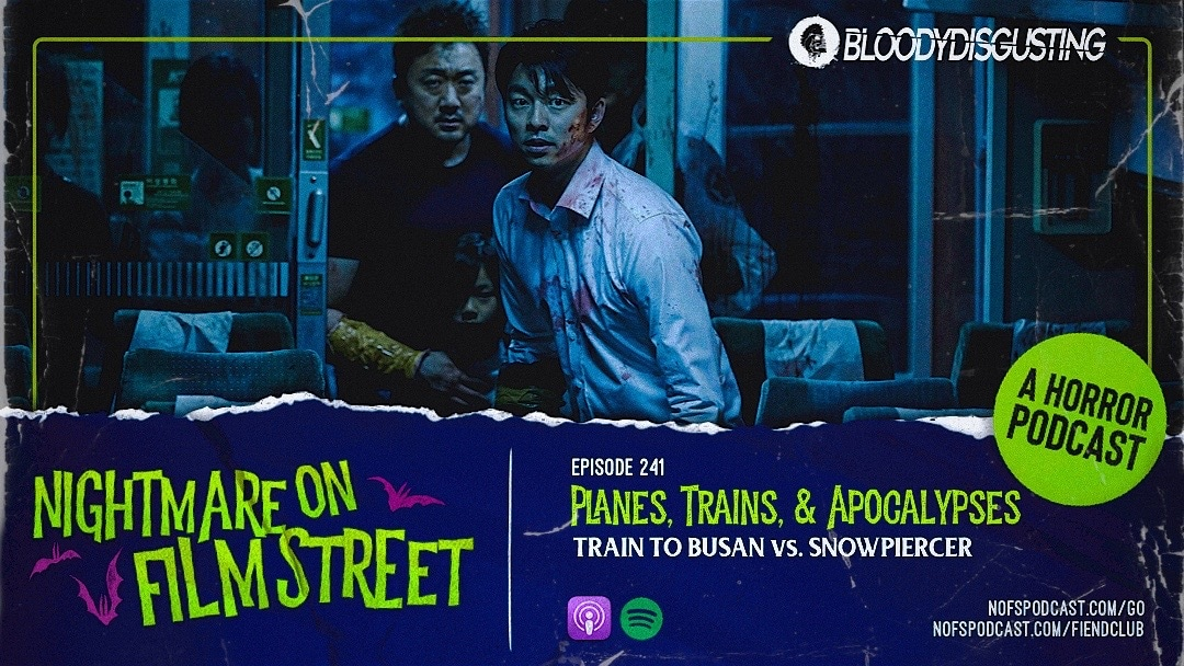 [Podcast] Planes, Trains, and Apocalypses: TRAIN TO BUSAN vs. SNOWPIERCER