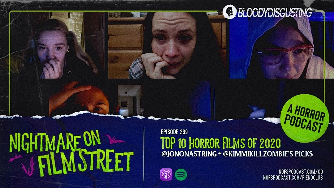[Podcast] Nightmare on Film Street's Top 10 Horror Movies of 2020