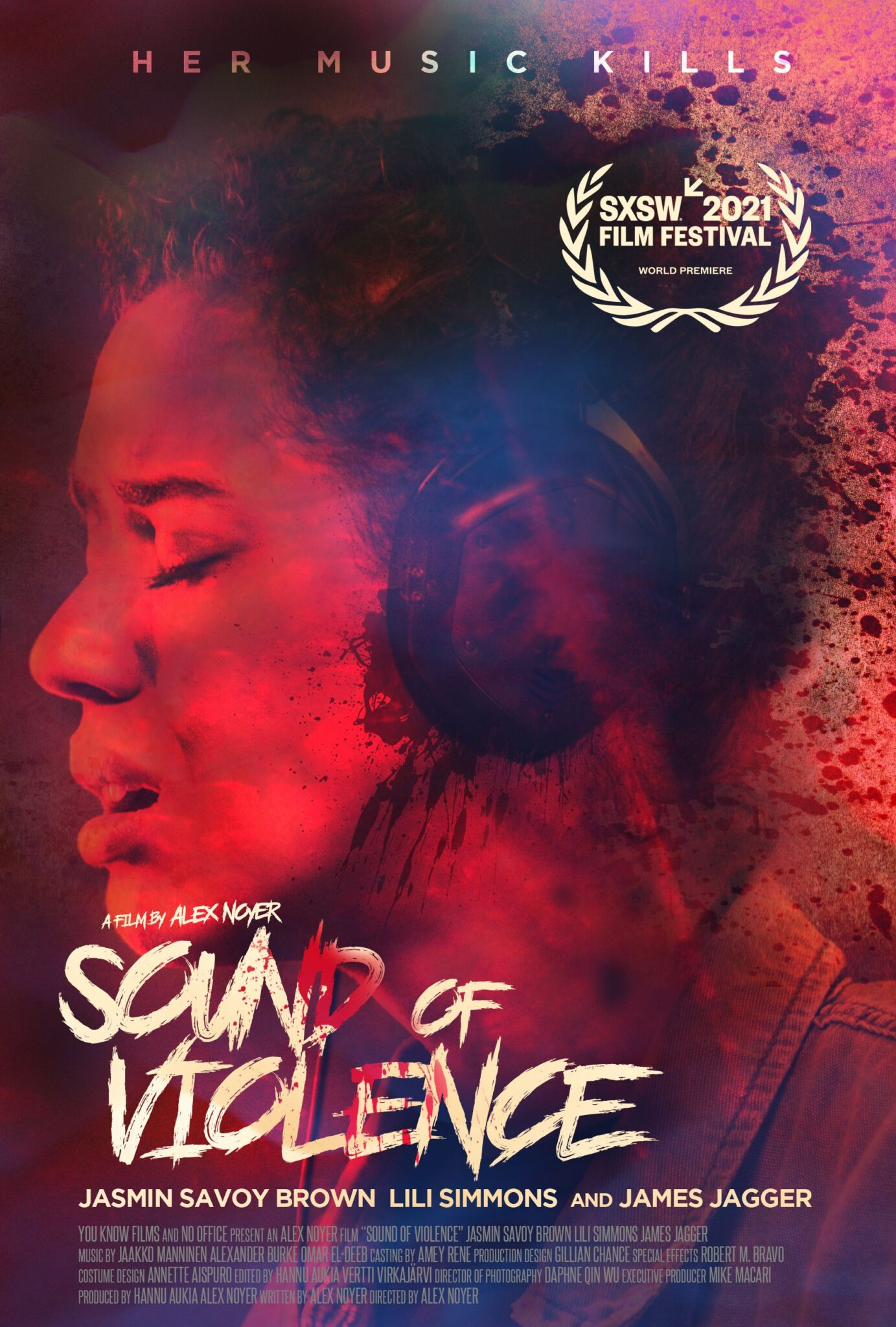 Jasmin Savoy Brown on Sound of Violence poster