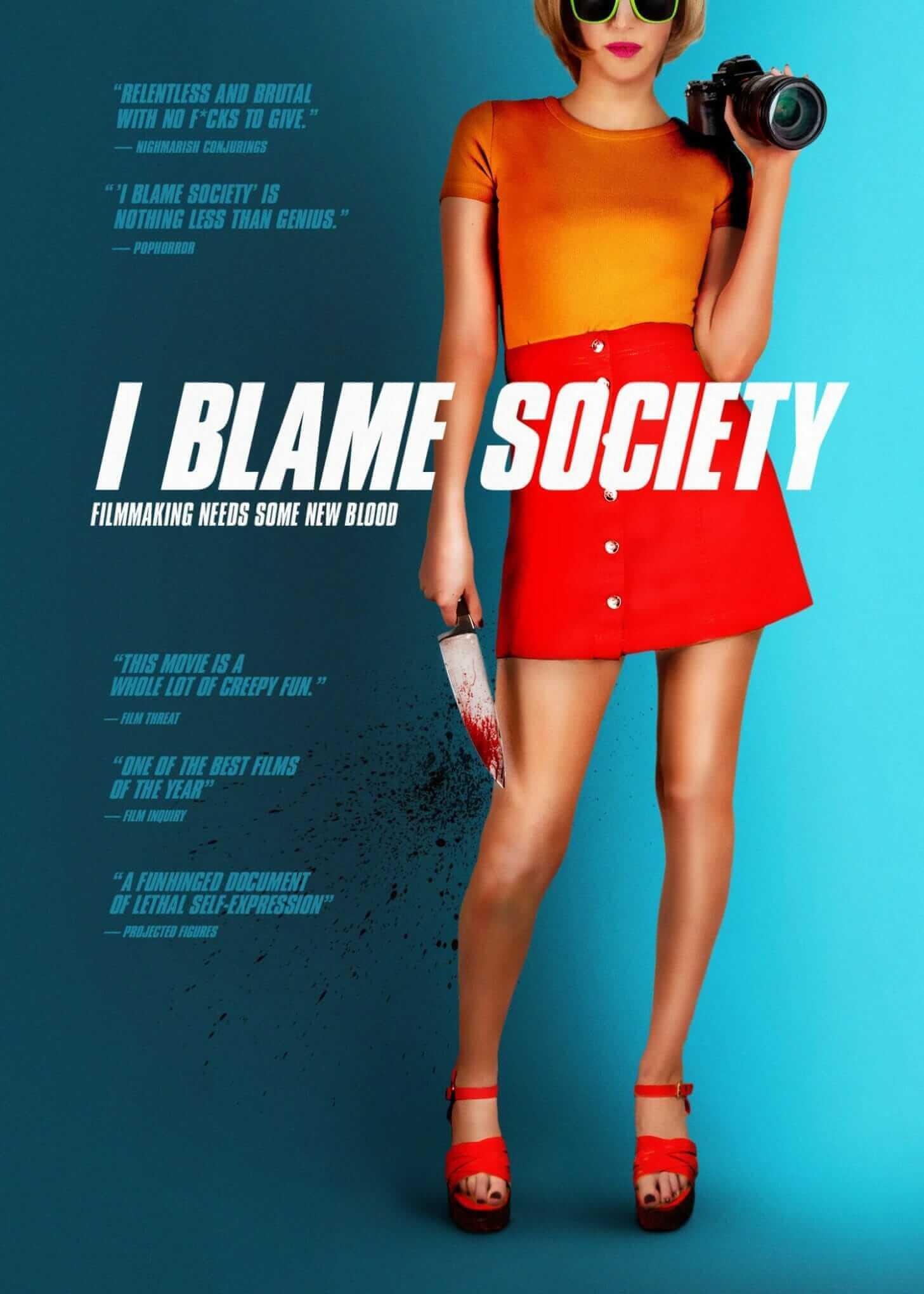 i blame society poster 2021