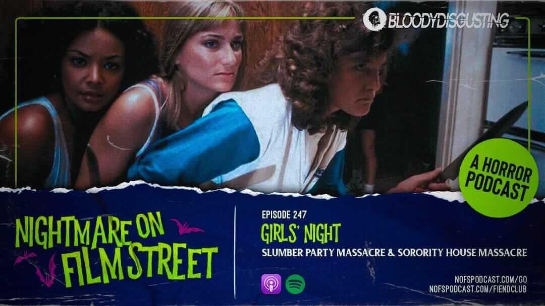 [Podcast] Girls' Night: SLUMBER PARTY MASSACRE + SORORITY HOUSE MASSACRE