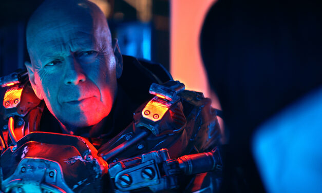 [Review] Bruce Willis and Frank Grillo Commit COSMIC SIN in A Compelling But Frustrating Mix of Sci-Fi, Horror, and Action