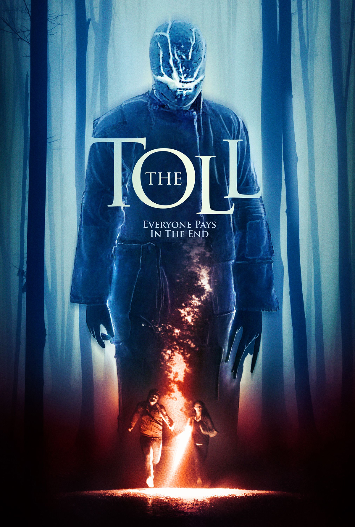 "Official poster for The Toll with the tagline ""Everyone pays in the end"""