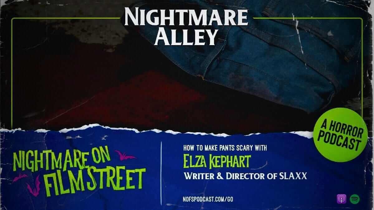 slaxx horror movie jeans evil nightmare on film street