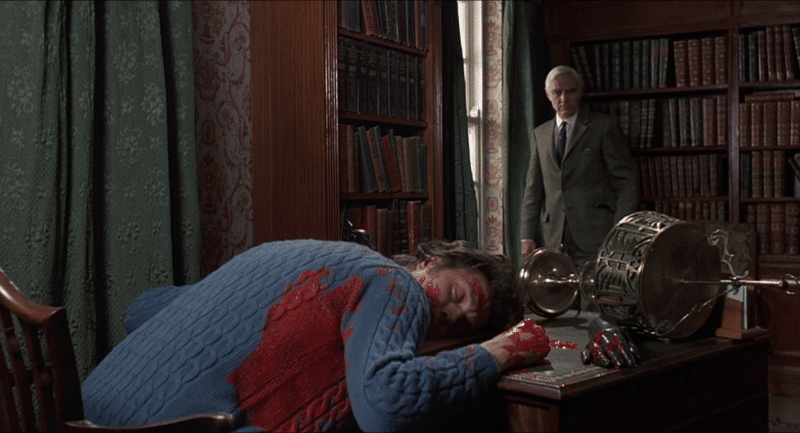 James Elliot's corpse is discovered in Tales From the Crypt