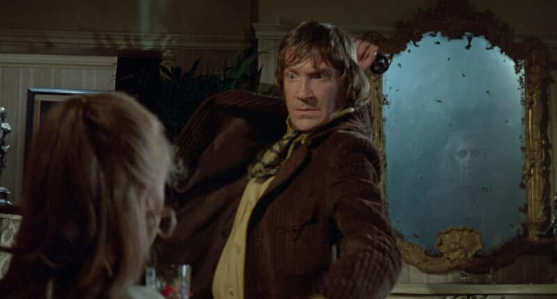 Edward Charlton kills for the mirror in From Beyond the Grave