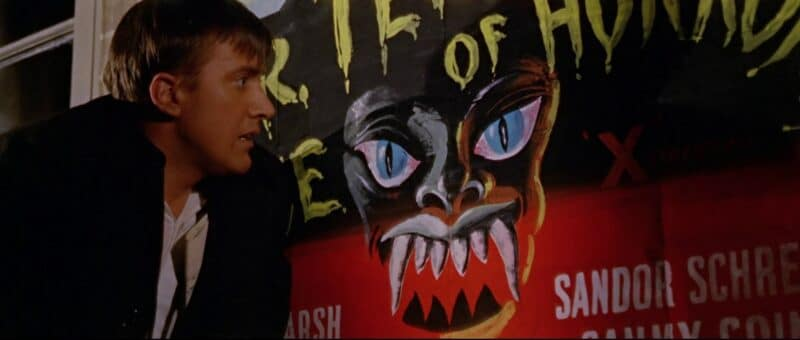 Biff Bailey runs scared in Dr Terror's House of Horrors