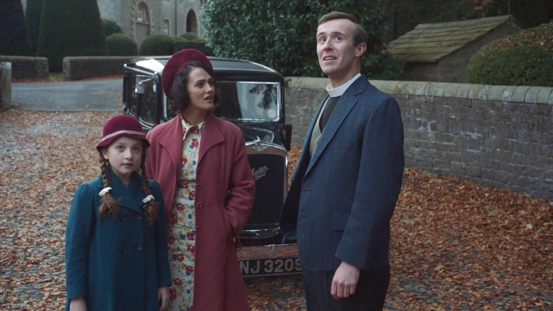 The Banishing Jessica Brown Findlay, John Heffernan, Anya McKenna-Bruce