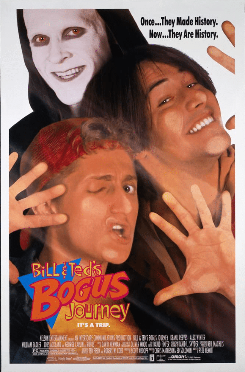 [Almost Horror] Sooner or Later You Dance with the Reaper in BILL AND TED'S BOGUS JOURNEY